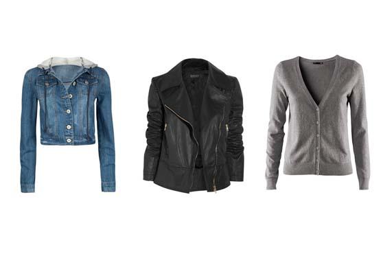 As jaquetas jeans e de couro são peça chave nos looks de festival, mas se não estiver muito frio, um cardigã será suficiente.