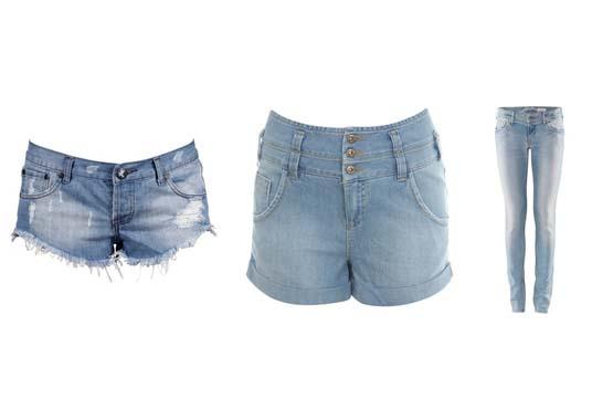 Shorts e calças jeans são ótimas opções para shows pois deixam você mais à vontade, os modelos de cintura alta ficam ainda mais charmosos e diferentes.