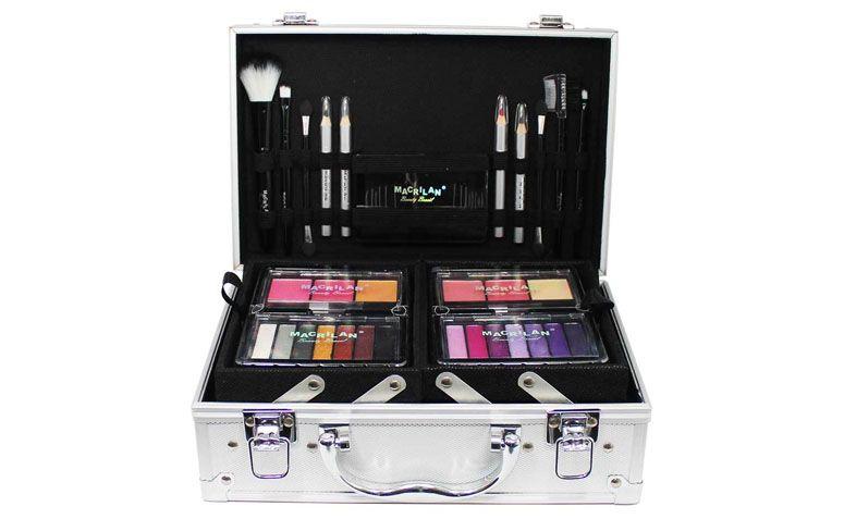 """Maleta de maquiagem Macrilan com 56 itens por R$129,90 no <a href=""""http://produto.mercadolivre.com.br/MLB-704502698-macrilan-maleta-de-maquiagem-3d-completa-com-56-itens-ml2-2m-_JM"""" target=""""_blank"""">Mercado Livre</a>"""