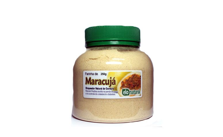 """Farinha de Maracujá Elo Natural por R$12 na <a href=""""http://www.elonatural.com.br/alimentos/farinhas-funcionais/farinha-de-maracuja-250g.html"""" target=""""blank_"""">Elo Natural</a>"""