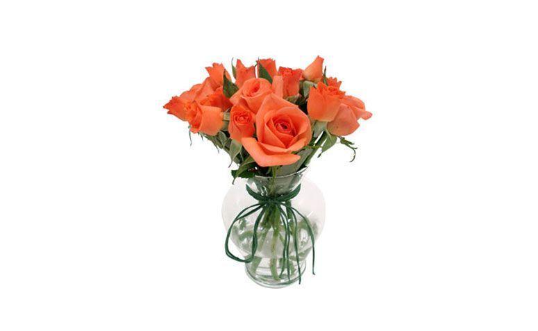 """Flor de canto laranja por R$ 72,50 na <a href=""""http://www.floresonline.com.br/detalhe.asp?flor=4964"""" target=""""_blank"""">Flores online</a>"""