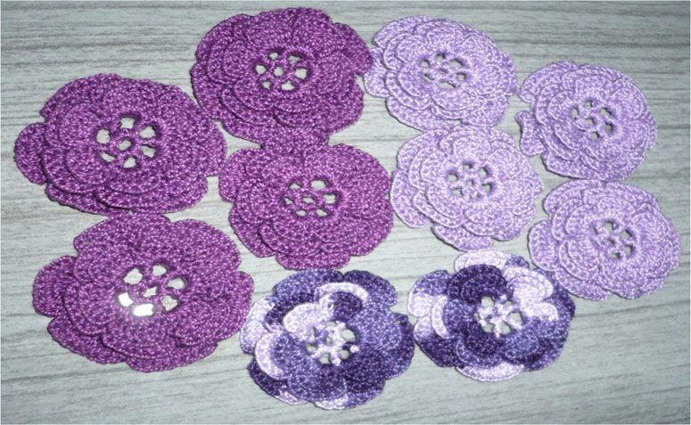 """Flor de crochê sem pérola por R$1,45 no <a href=""""http://www.elo7.com.br/flor-de-croche-sem-perola/dp/47FD7#pso=up&osbt=b-o&df=d&fatc=1&ss=0&sv=0&uso=d&fvip=1&hsn=0&smk=0"""" target=""""blank_"""">Elo7</a>"""