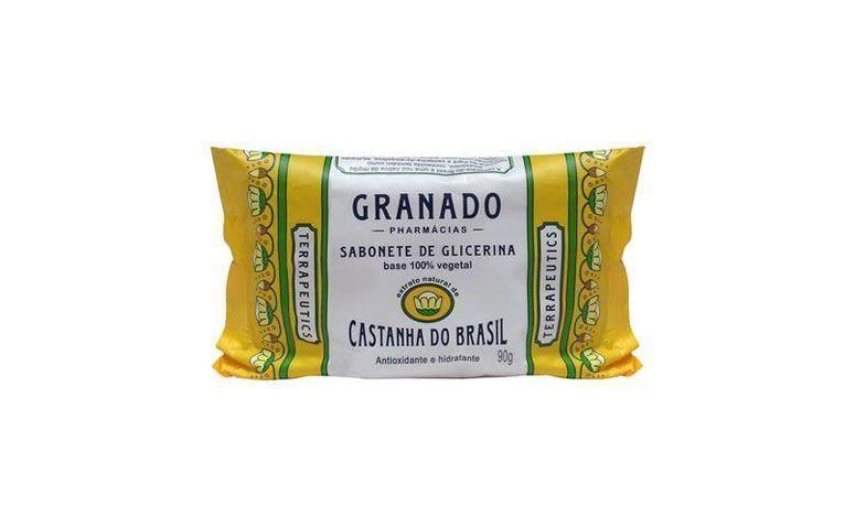 "Sabonete Granado de Glicerina e Castanha do Brasil por R$2,99 na <a href=""http://www.netfarma.com.br/Produto/20342/sabonete-granado-de-glicerina-e-castanha-do-brasil"" target=""blank_"">Netfarma</a>"