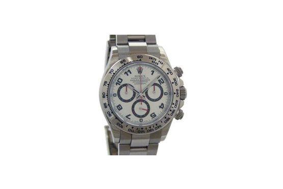 Relógio Rolex – Daytona Oro Bianco – R$46.169, na chrono24.com.br. Foto: Reprodução.