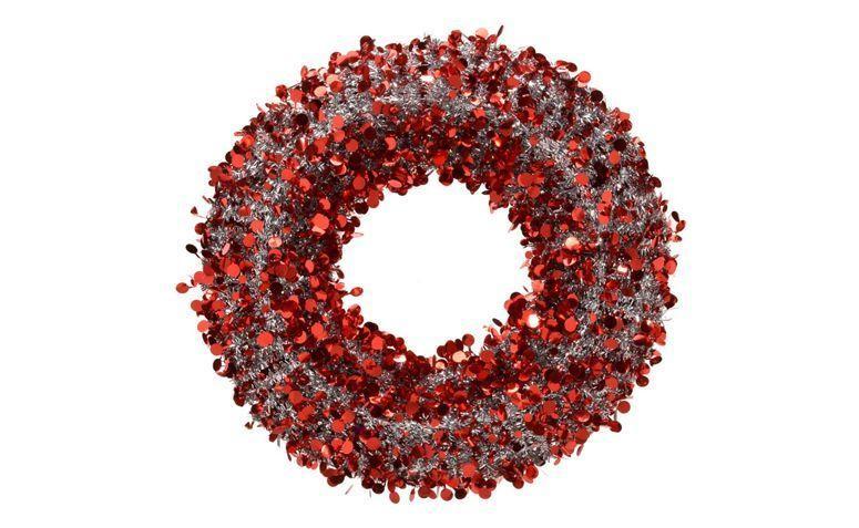 red garland Santini untuk $ 119,12 di Walmart