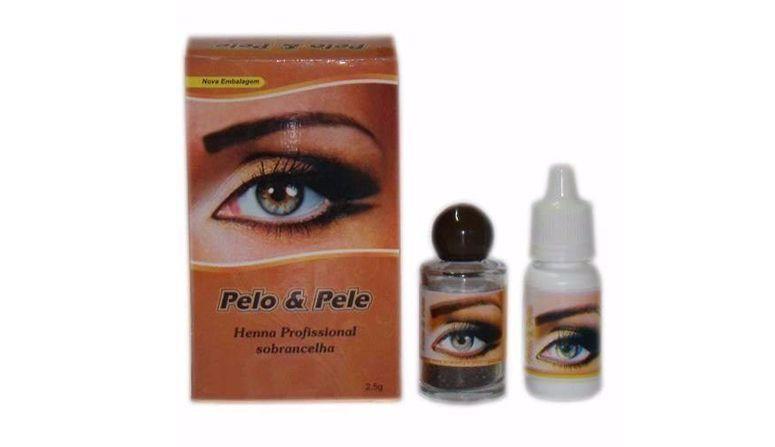 """Henna Pelo e Pele por R$18,90 no <a href=""""http://produto.mercadolivre.com.br/MLB-711396273-henna-para-sobrancelhas-pelo-e-pele-louro-escuro-com-fixador-_JM"""" target=""""blank_"""">Mercado Livre</a>"""