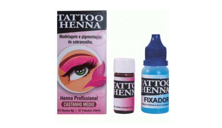 """Tattoo Henna por R$24,75 na <a href=""""http://www.belcosmeticos.com.br/henna-para-sobrancelha-tatto-henna-castanho-medio-p673"""" target=""""blank_"""">Bel Cosméticos</a>"""