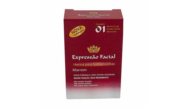 """Henna Expressão Facial por R$40,65 na <a href=""""http://www.araujo.com.br/henna-para-sobrancelhas-expressao-facial-marrom/p"""" target=""""blank_"""">Drogaria Araújo</a>"""
