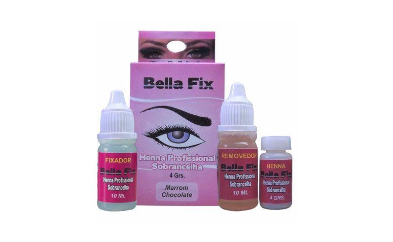 "Bella Fix Kit Henna Profissional por R$29,90 na <a href=""http://www.superbonitacosmeticos.com.br/bella-fix-kit-henna-profissional-sobrancelha-marrom-chocolate/p?idsku=2002849"" target=""blank_"">Super Bonita Cosméticos</a>"
