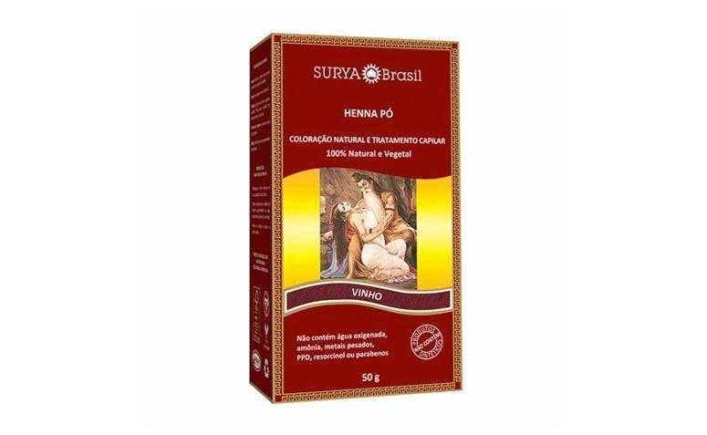 "Henna Surya Pó por R$26,85 na <a href=""https://www.panvel.com/panvel/visualizarProduto.do?codigoItem=972720"" target=""blank_"">Panvel</a>"