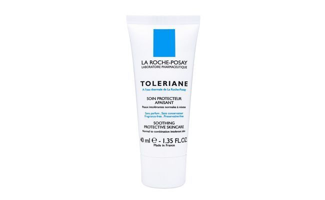 "Toleriane Creme – La Roche por R$ 85,63 no <a href=""http://www.emporiocharm.com.br/la-roche-posay-toleriane-creme-facial-hidrata-peles-sensiveis-40ml"" target=""_blank"">Emporio Charm</a>"
