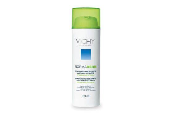 Para pele oleosa a acneica. Tem tripla ação: anti-imperfeições, matificante e hidratação por 24h. Textura refrescante, leve e não-oleosa (R$ 69,91, na DrogaRaia)