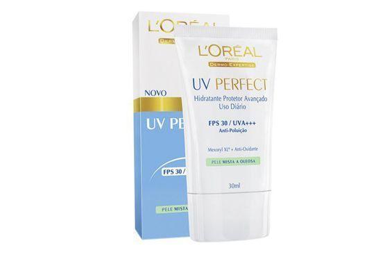 Hidratante facial fluido com FPS 30 e ativo anti-brilho que combate a oleosidade. Sua textura mais leve impede o acúmulo de oleosidade ao longo do dia. (R$ 59,90 - na Sack's)