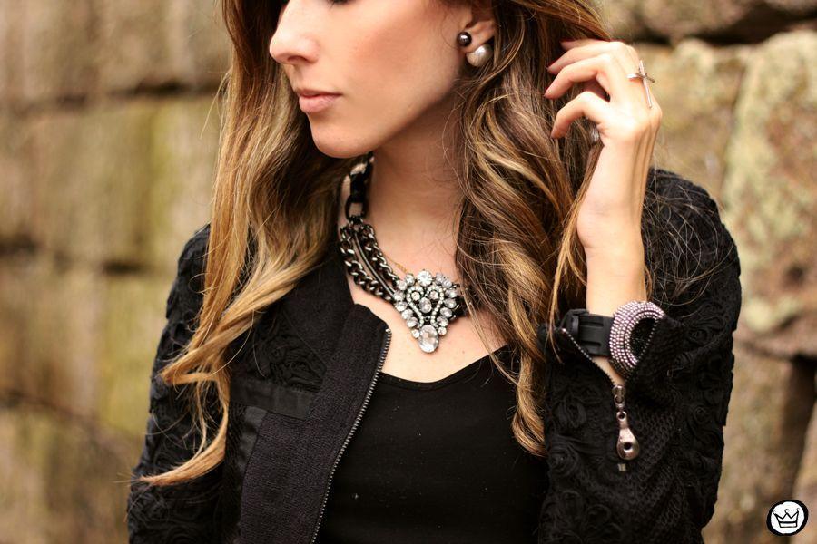 """Foto: Reprodução / <a href=""""http://fashioncoolture.com.br/2014/06/07/all-black-outfit-sequins/"""" target=""""_blank"""">Fashion Coolture</a>"""