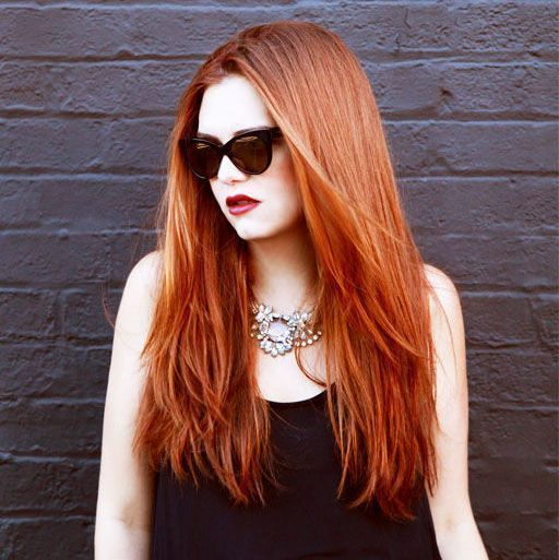 """Foto: Reprodução / <a href=""""http://thebeautydepartment.com/2014/08/keep-red-hair-from-fading/"""" target=""""_blank"""">The Beauty Department</a>"""