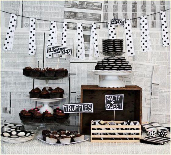 """Foto: Reprodução / <a href=""""https://prendadinha.wordpress.com/2013/01/31/20-ideias-de-decoracao-de-parede-para-festa/"""" target=""""_blank"""">Prendadinha</a>"""