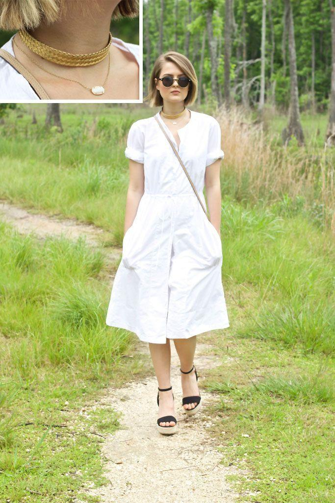 "Foto: Reprodução / <a href=""http://skirtsofurban.com/2015/05/25/shirtdress-ootd-fashion-blog-blogger-skirts-of-urban/"" target=""_blank"">Skirts of Urban</a>"