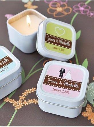 Kynttilät custom laatikko Kuva: toisto / Daavidin Bridal