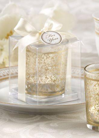 Cup decorated in transparent box Photo: Playback / David's Bridal