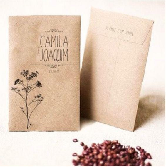 Bags with seeds Photo: Playback / Lolli Love