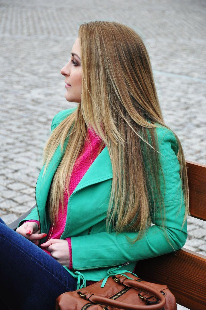 "Foto: Reprodução / <a href=""http://karinainfashionland.com/2013/11/green.html"" target=""_blank"">Karina in Fashionland</a>"