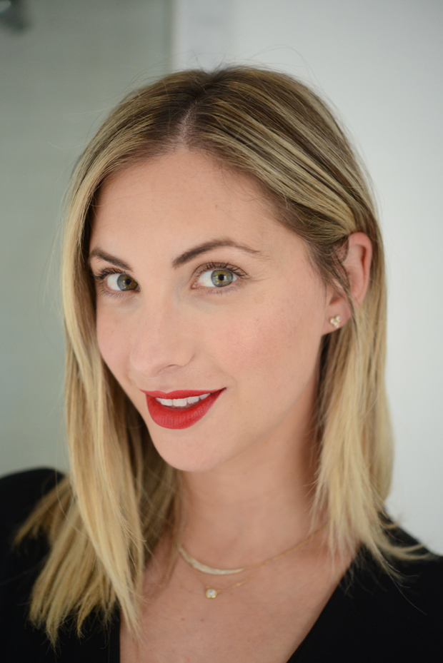 """Foto: Reprodução / <a href=""""http://cupcakesandcashmere.com/beauty/lipstick-tricks-for-novices"""" target=""""_blank"""">Cupcakes and Cashemere</a>"""