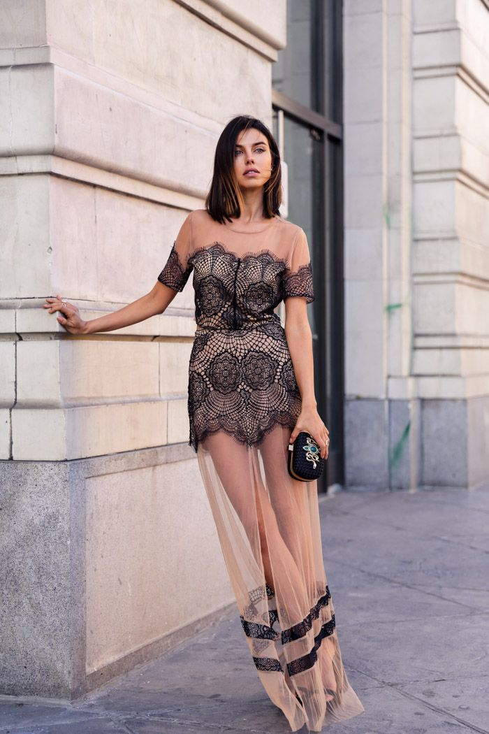 "Foto: Reprodução / <a href=""http://vivaluxury.blogspot.com.br/2015/02/grace-in-lace.html"" target=""_blank"">Viva Luxury</a>"
