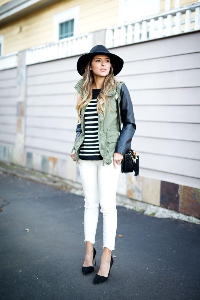 """<a href=""""http://thegirlfrompanama.com/striped-sweater-winter-white-denim/"""" target=""""_blank"""">The Girl From Panama</a>"""