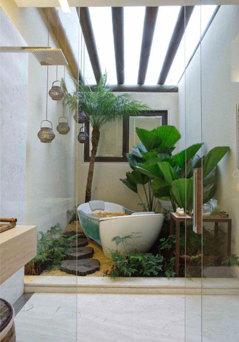 ideias de jardim japones : ideias de jardim japones:Jardim de inverno: um toque verde para dar mais vida ao seu lar