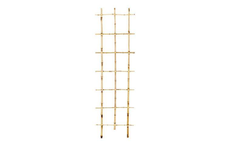 "Treliça de bambu por R$48,90 na <a href=""http://www.leroymerlin.com.br/trelica-bambu-100x30cm_88512711"" target=""blank_"">Leroy Merlin</a>"