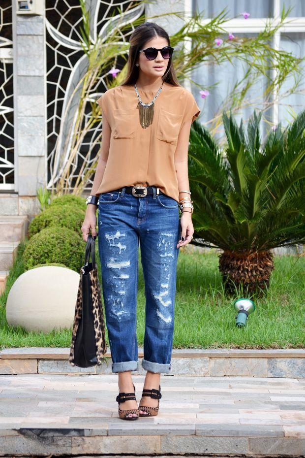 "Foto: Reprodução / <a href=""http://www.blogdathassia.com.br/br/2012/05/11/meu-look-baggy-jeans//#post"" target=""_blank"">Blog da Thássia</a>"