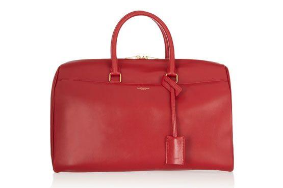 <p>Bolsa vermelha - Saint Laurent por US$2.650,00 na Loja Net-a-Porter. </p>