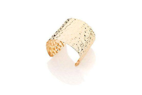 <p>Bracelete dourado - Rommanel por R$180. </p>