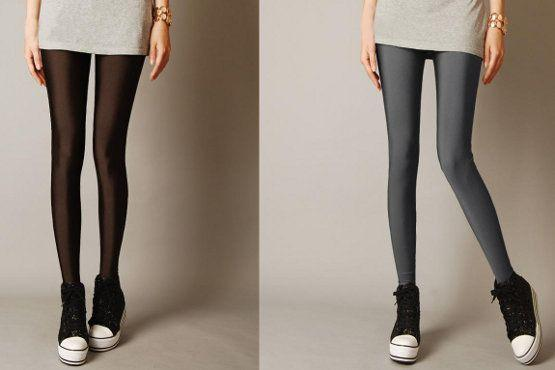 Legging metalizada