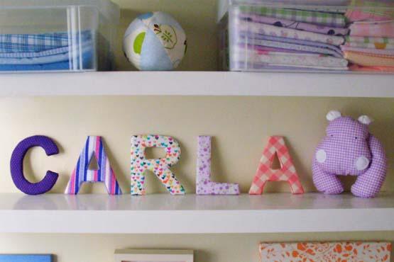 Letras decorativas dicas de mulher - Letras decorativas pared ...