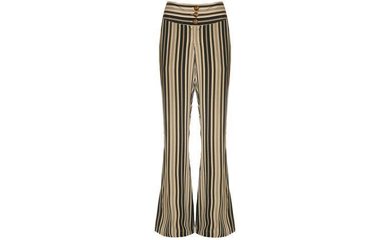 ギャラでRで$ 695ミックスストライプのズボン