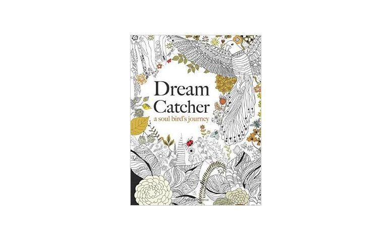 "Dreamcatcher por £4.99 no <a href=""http://www.amazon.co.uk/Dream-Catcher-beautiful-inspiring-colouring/dp/1909855723"" target=""_blank"">Amazon</a>"