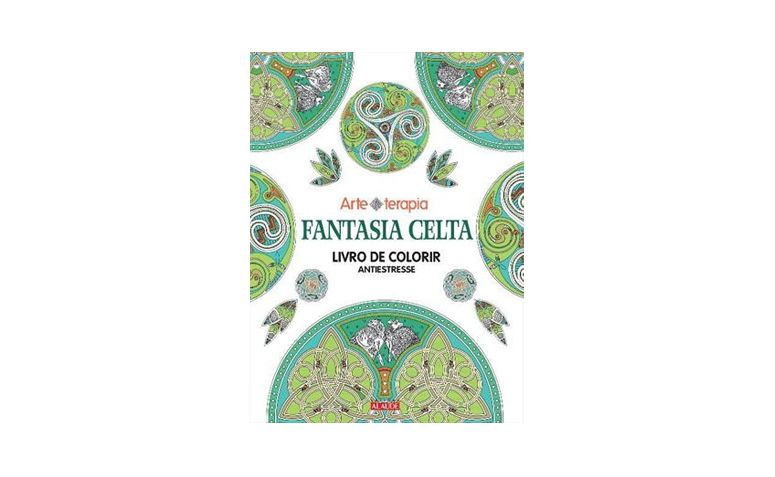 """Fantasia Celta por R$29,90 na <a href=""""http://www.travessa.com.br/fantasia-celta-livro-de-colorir-antiestresse/artigo/a8572dc8-5e0e-4084-ba4b-158ee091ebae"""" target=""""_blank"""">Travessa</a>"""