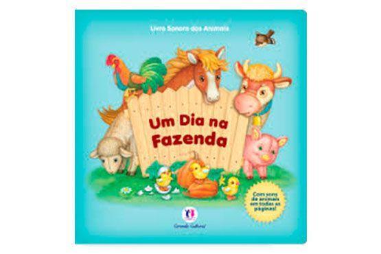 """<p>Um dia na fazenda (livro sonoro), de Ciranda Cultural por R$29,90 na <a href=""""http://www.livrariasaraiva.com.br/produto/4060103""""target=""""_blank""""> Saraiva</a></p>"""