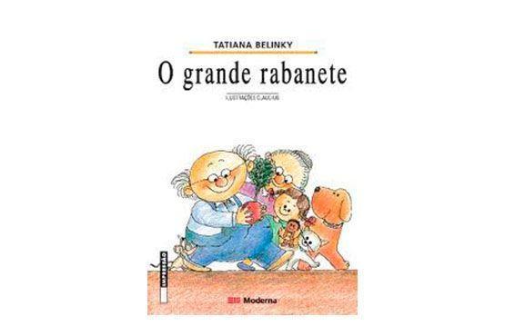 """<p>O grande rabanete, de Tatiana Belinky  por R$19,89 no <a href="""" http://produto.mercadolivre.com.br/MLB-491768729-o-grande-rabanete-col-girassol-_JM """"target=""""_blank""""> Mercado Livre</a></p>"""