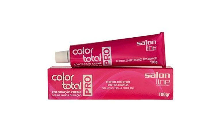 "Tintura Color Total Pro 10.1 por R$7,22 na <a href=""http://www.perfumariaseiki.com.br/coloracao-creme-color-total-pro-n%C2%B0-10-0-louro-clarissimo-100g---salon-line-35782/p "" target=""_blank"">Seiki Perfumaria</a>"