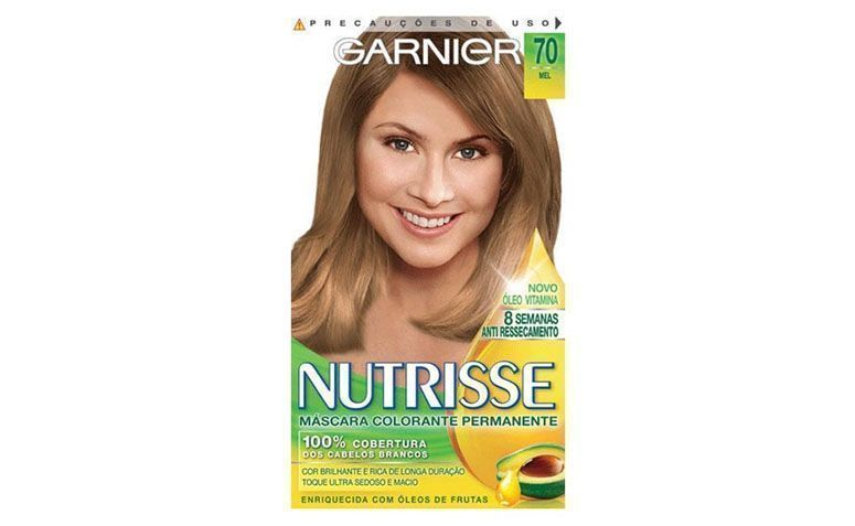 """Coloração Nutrisse 70 Louro Natural- Mel por R$12,10 na <a href="""" http://www.ikesaki.com.br/tint-nutrisse-70--louro-natural-2231-14/p"""" target=""""_blank"""">Ikesaki</a>"""