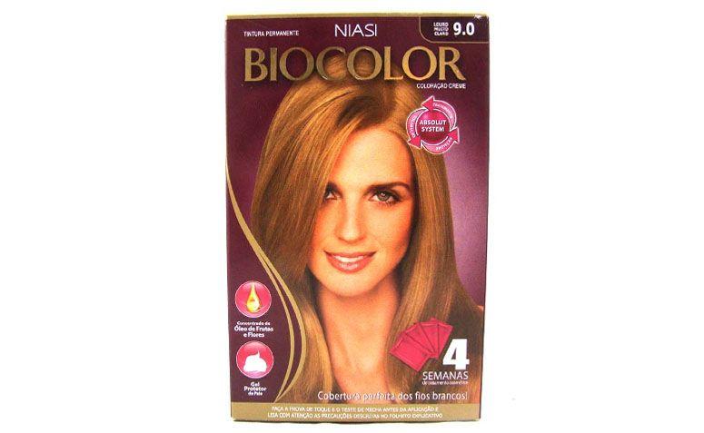 "Tintura Biocolor Kit Creme 9.0 Louro Muito Claro por R$9,90 na <a href="" http://www.ikesaki.com.br/tint-biocolor-kit-cr-9-0--louro-muito-cl-1620-42/p"" target=""_blank"">Ikesaki</a>"
