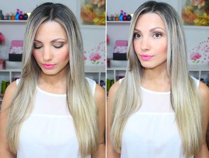"""Foto: Reprodução / <a href=""""http://www.euvouderosa.com/2014/12/meu-cabelo-novo-loiro-platinado-rotina-de-cuidados.html"""" target=""""blank_"""">Eu vou de rosa</a>"""