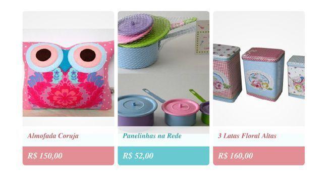 """<a href=""""http://www.coisasdadoris.com.br/"""" target=""""_blank"""">Coisas da Doris</a>: A loja Coisas da Doris tem produtos para decorar a sua casa com um toque delicado, feminino e fofo."""