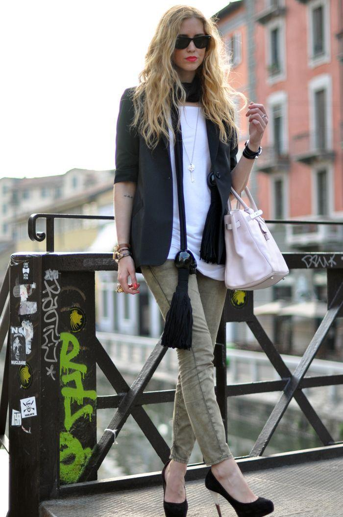 "Foto: Reprodução / <a href=""http://www.theblondesalad.com/2011/05/around-milan-in-good-company.html "" target=""_blank"">The Blond Salad</a>"