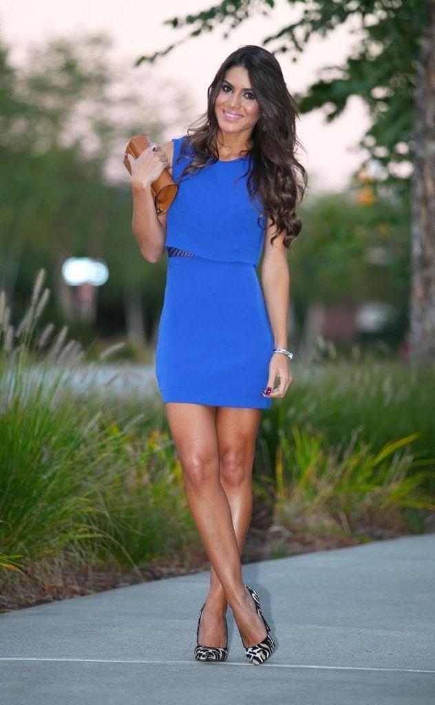 """Foto: Reprodução / <a href=""""http://camilacoelho.com/2013/10/09/look-do-dia-azul-e-animal-print/"""" target=""""_blank"""">Camila Coelho</a>"""