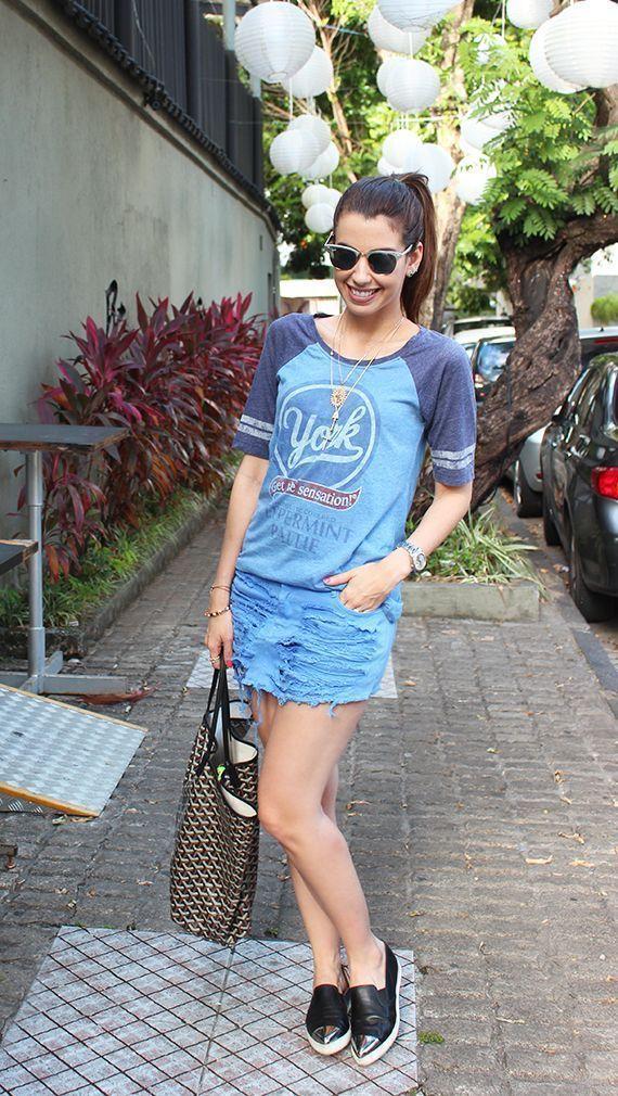 """Foto: Reprodução / <a href=""""http://www.garotasestupidas.com/look-do-dia-jeans-camiseta-%E2%99%A5/"""" target=""""_blank"""">Garotas Estúpidas</a>"""