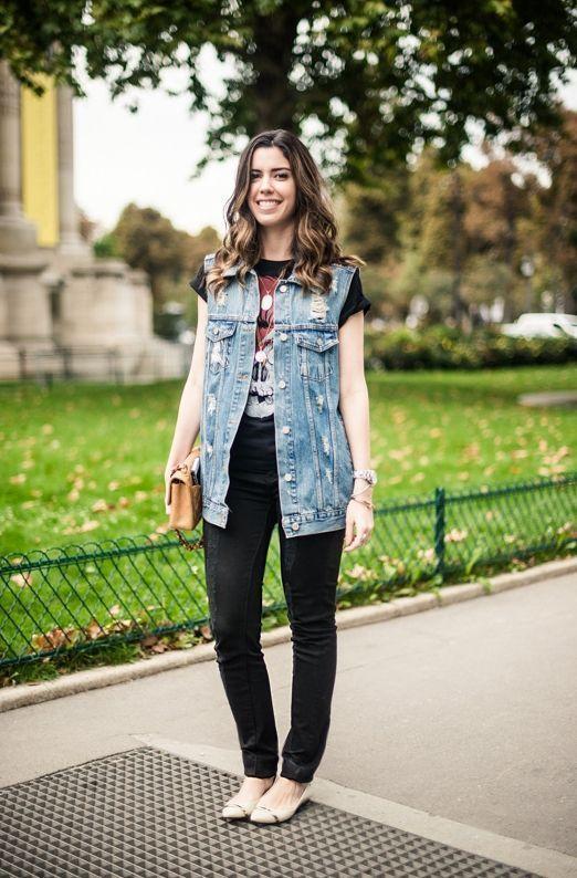 """Foto: Reprodução / <a href=""""http://www.garotasestupidas.com/look-do-dia-jeans-tshirt-em-paris/"""" target=""""_blank"""">Garotas Estúpidas</a>"""