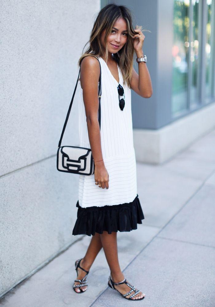"Foto: Reprodução / <a href=""http://sincerelyjules.com/tag/stella-longline-dress"" target=""_blank"">Sincerely Jules</a>"